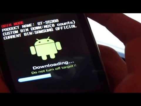Flashear galaxy Y GT-s5360L con Odin Recuperar 3G-