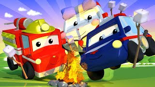Horror Stories - Tiny Town: Street Vehicles Ambulance Police Car Fire Truck