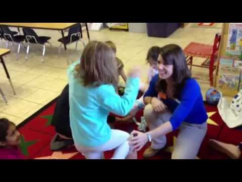 Powhatan School Kindergarten Science: SU Physical Therapy Visit