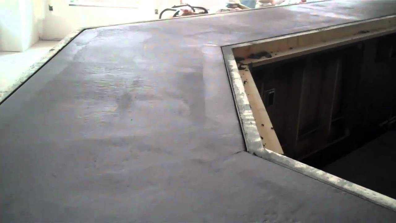 Concrete bar top setting up la crosse wi empire for How to build a commercial bar top
