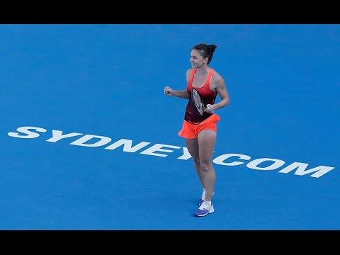 2016 Apia International Sydney Quarterfinal | Simona Halep vs Karolina Pliskova | WTA Highlights