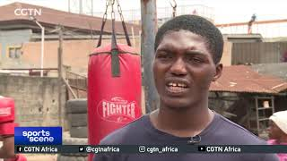 Nigeria national welterweight champion aims for Olympic glory