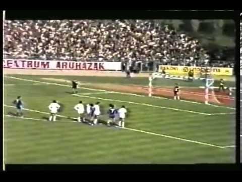 Tatabányai Bányász SC - Real Madrid CF 2 : 1, 1981.09.16