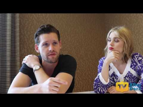 Luke Kleintank & Bella Heathcote of The Man in the High Castle at SDCC 2016 Interview
