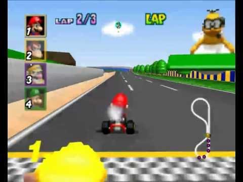 como descargar. instalar y configurar el Mario kart 64 para PC