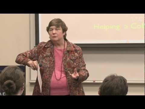 Barbara Millis - Preparing a Professional Portfolio