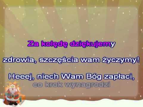 Kolęda Karaoke - Za Kolędę Dziękujemy - Z Wokalem