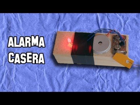 Como Hacer una Alarma Casera de Barrera | Experimentos Caseros