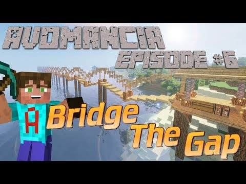 Minecraft Survival Lets Play Ep6 | Avomancia | Now YOU can get involved | Bridges & Special Bases