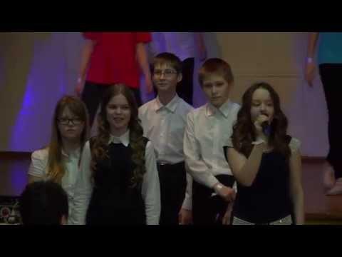 Песня Эйфория, 7 Б класс, 27 Гимназия, 2014, Битва хоров