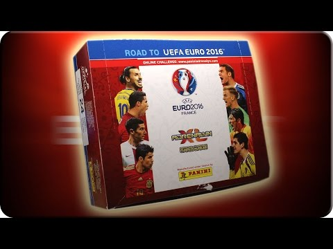Road to UEFA EURO 2016 24 Booster DISPLAY Unboxing