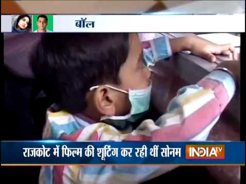 Sonam Kapoor And Salman Khan Admitted To Hospital Due To Swine Flu - India Tv video