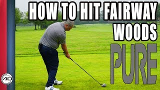 Golf - How To Hit Fairway Woods From The Ground