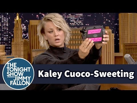 Kaley Cuoco-Sweeting Takes Polaroid Selfies