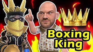 Tyson Fury DECLARE him self the KING of Heavyweight Boxing