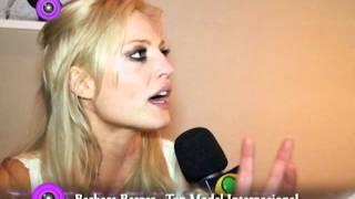 Top Model Internacional Barbara Berger em entrevista exclusiva para  Tatjana Ceratti.