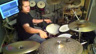 Santana Black Magic Woman drum cover