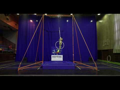Eva Rajlichova - Hoop Amateurs A, Open European Championship of Aerial Acrobatics 2016