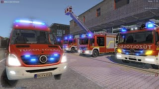 Emergency Call 112 ? Hungarian Firefighters Gameplay! 4K