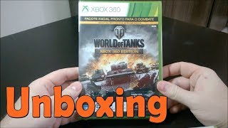 World of Tanks Xbox 360 Edition -  Xbox 360 - UNBOXING