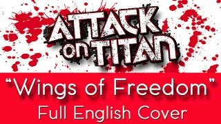 Attack On Titan Opening 2 34 Wings Of Freedom 34 Jiyuu No Tsubasa Full English