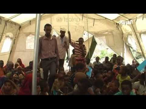 Displaced children in Somalia find solace