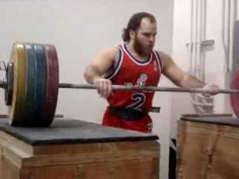 Olympic Weightlifting Training today lots of hang snatches Image 1