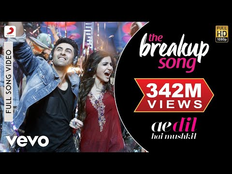 The Breakup Song - Ae Dil Hai Mushkil | Ranbir | Anushka | Pritam | Arijit thumbnail