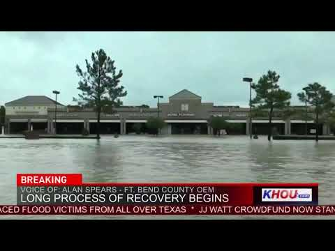 Fort Bend County OEM spokesman on mandatory evacuations near Barker Reservoir