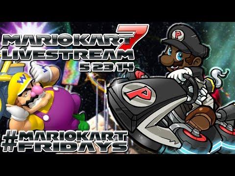 Mario Kart 7 w/ Viewers! ft. @TheKingNappy (5/23/14) (#MarioKartFridays)