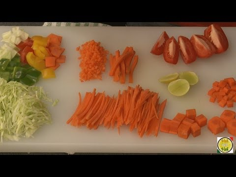Cuts of Vegetables
