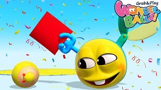 Coloring and Drawing for Kids | Wonderballs Season 2 | Funny Cartoons for Children