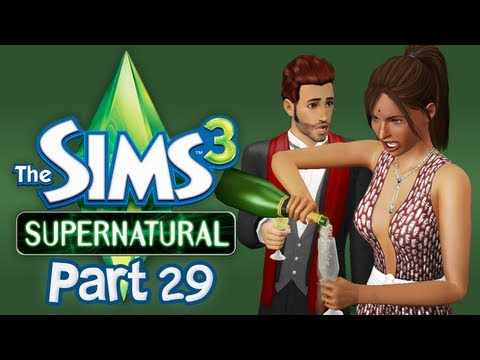 Let's Play The Sims 3 Supernatural - Part 29 (The Random Prancing)