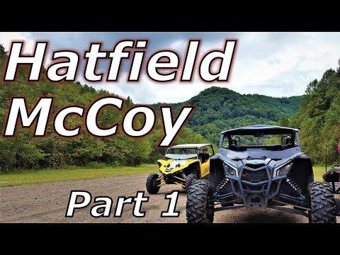 Hatfield McCoy Part 1! Bearwallow! X3 XRS, YXZ, RZR XP1000!