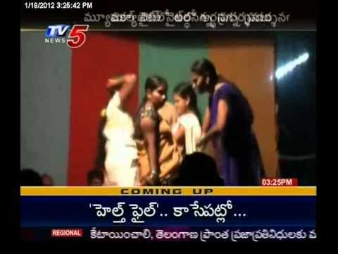Tv5 - Police & Villagers Enjoying Nude Vulgur Dances video