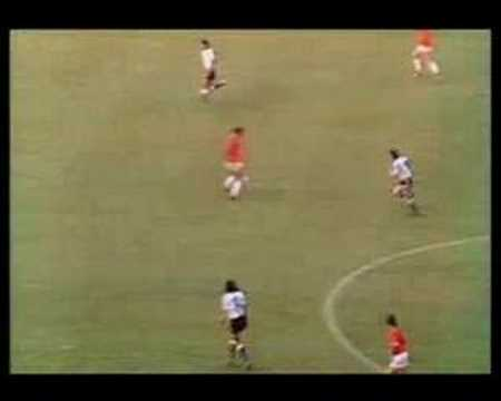 Holland vs Argentina World Cup 1974