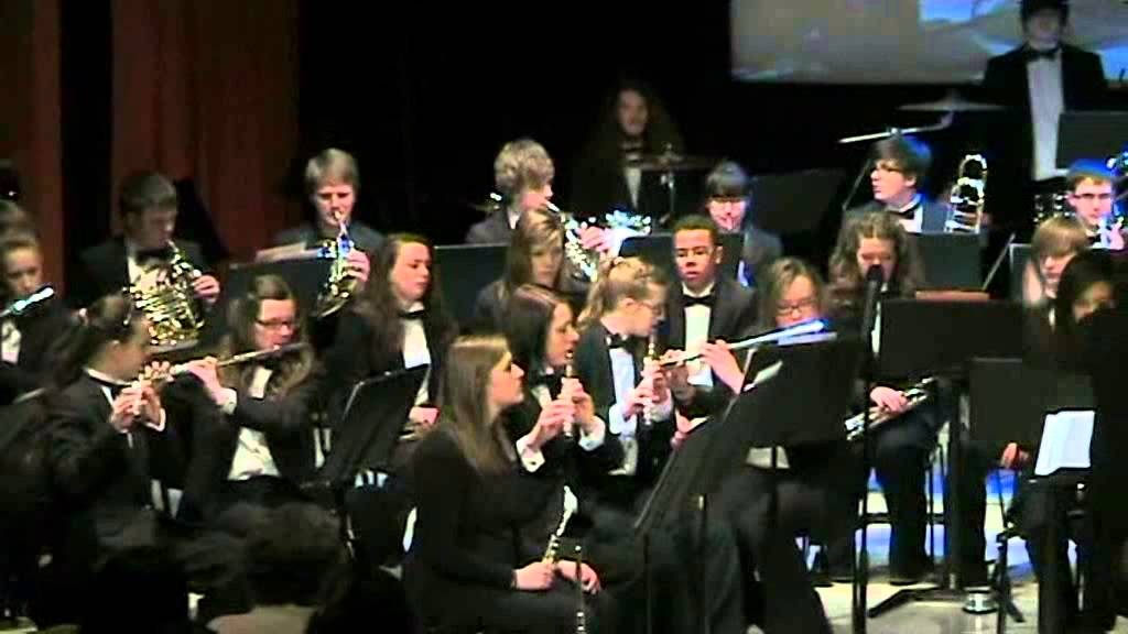 Cartoon Concert Band Youth Concert Band