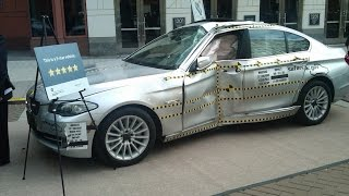 Crash Test BMW 5 Series F10 by Euro NCAP