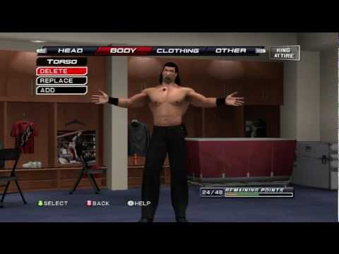 How To Make The Great Khali On WWE Smackdown Vs Raw 2011