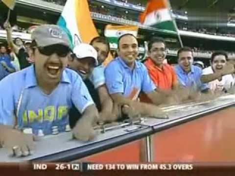 Tendulkar's Bullet Drive against LEE