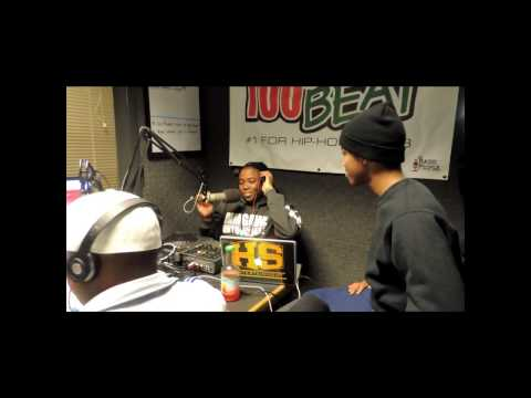 New Hodge World Freestyles- Lil Snupe Freestyle And Interview On 100.1 Da Beat In Monroe La video
