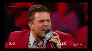 The Miz Shoot Promo on AJ Styles, Smackdown Live 10/9/18