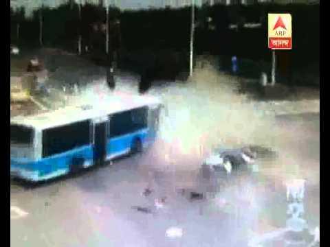 2 Killed in Crossroad Crash in Nanjing at China