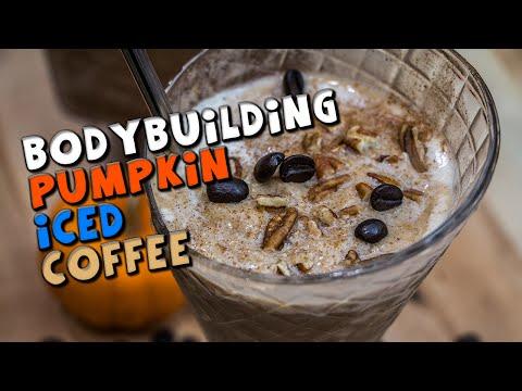 High PROTEIN Bodybuilding Pumpkin Iced Coffee Recipe