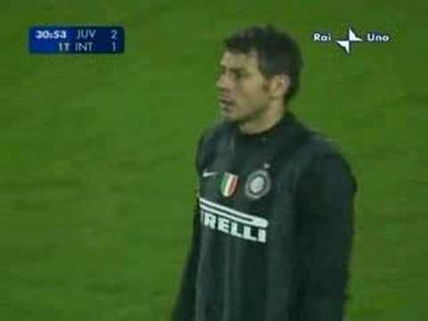 Juventus 2 - 3 Inter Milan (2006) [Balotelli x2, Del Piero, Iaqunta, Julio Cruz]
