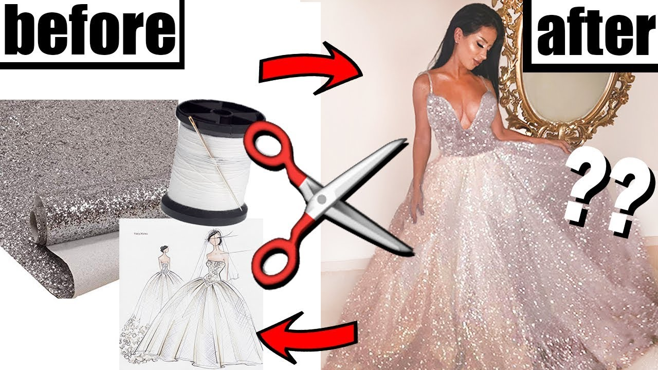MAKING MY OWN PROM DRESS (*for cheap!*)
