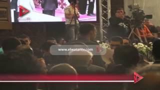 بدء قداس عيد القيامة بحضور هاني رمزي وأحمد الزند وعدد من الوزراء والسياسيين