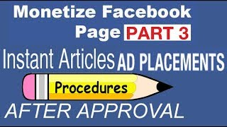 (5.56 MB) Facebook Instant articles Ads Placement Process after Approval of Fb Page part 3 Mp3