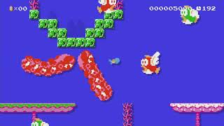 Origin of Species: Blue Planet by Boh!! - Super Mario Maker - No Commentary