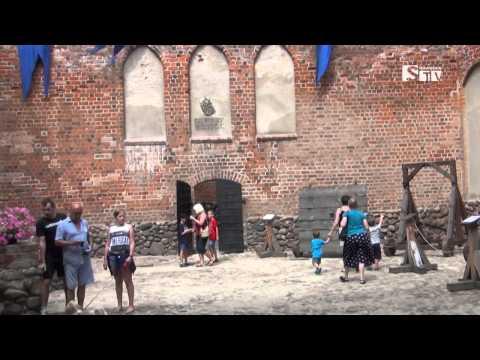 Historyczno-rekreacyjny wyjazd grupy nordic walking z Sieradzką TV Media